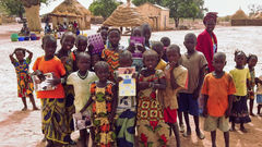 Kinder in Senegal