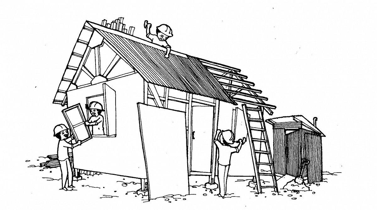 Haus bauen comic  News - Thema: Naturkatastrophe - World Vision Schweiz
